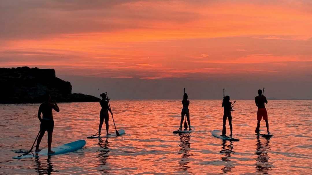 Sorrento SUP sunset tour
